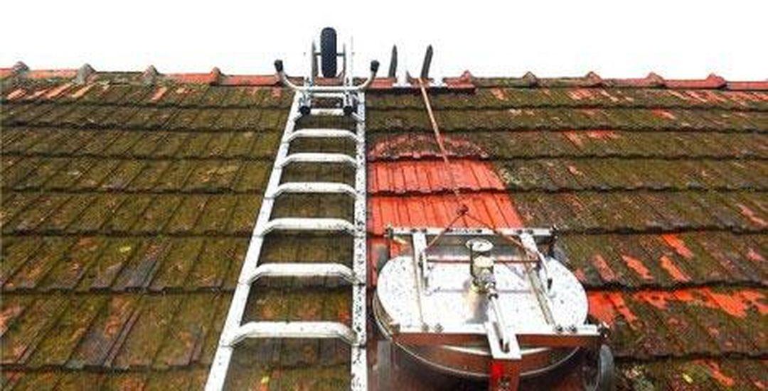 Čištění střech a budov