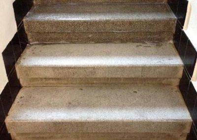 Impregnace kamenných schodů 02