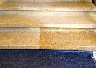 Impregnace kamenných schodů 03