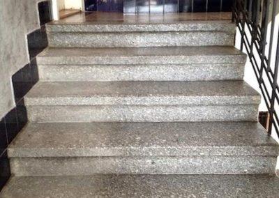 Impregnace kamenných schodů 05