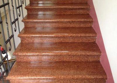 Impregnace kamenných schodů 06