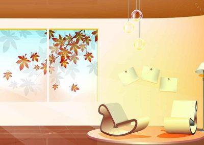 Návrhy a vizualizace interiérů 05