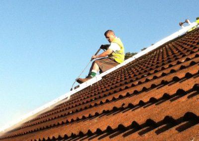 Výškové čištění střech 04