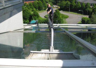 Výškové čištění střech 05