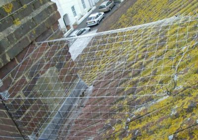 Výškové instalace zábran proti ptactvu 05