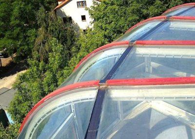 Výškové mytí oken 08