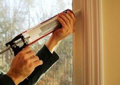 Výškové nátěry oken 03