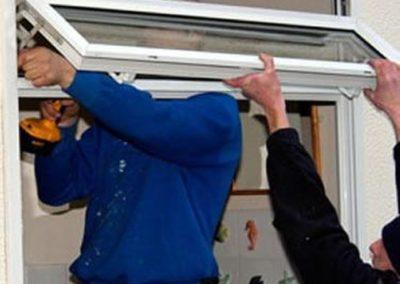 Výškové nátěry oken 06