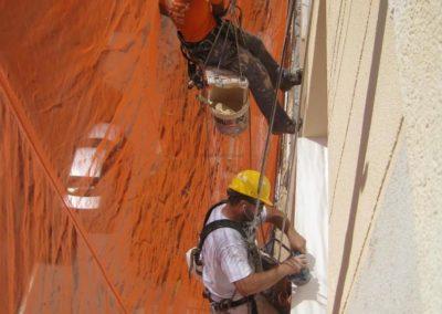 Výškové opravy fasád 06