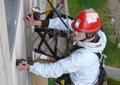 Výškové opravy fasád 08
