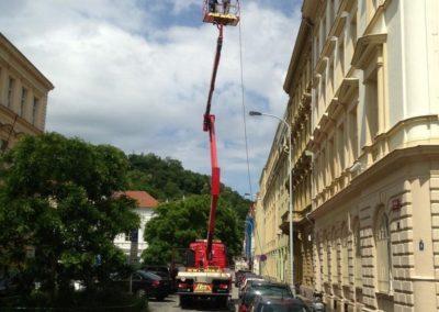 Výškové opravy střech 07